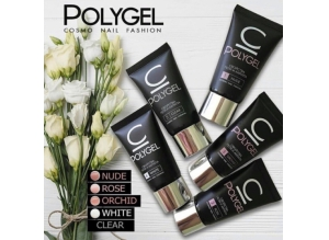 "Polygel - Полигель ""COSMO"" Clear #5, 30 гр."