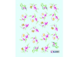 Наклейки цветные, № BLE021