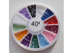 КАРУСЕЛЬ - цветные украшения, #40
