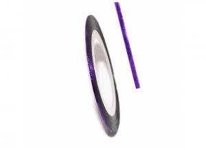 Нить для дизайна ногтей на клейкой основе (фиолетовая)