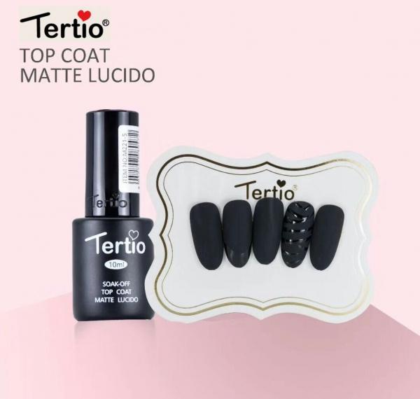 """Матовый топ """"Tertio"""", 10 мл."""