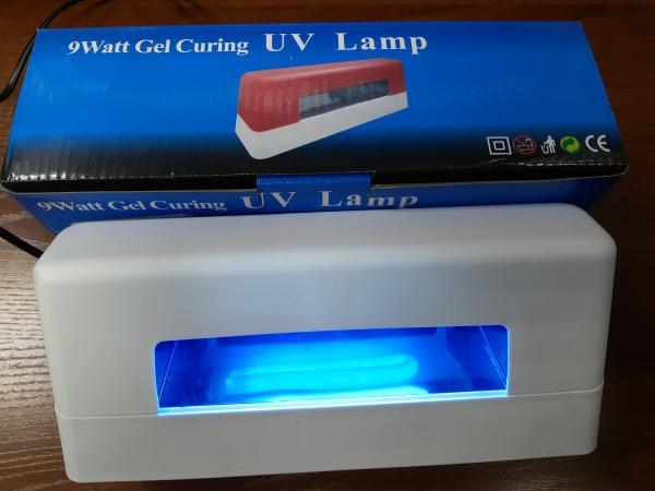 УФ-лампа 9 Вт (белая), модель 322