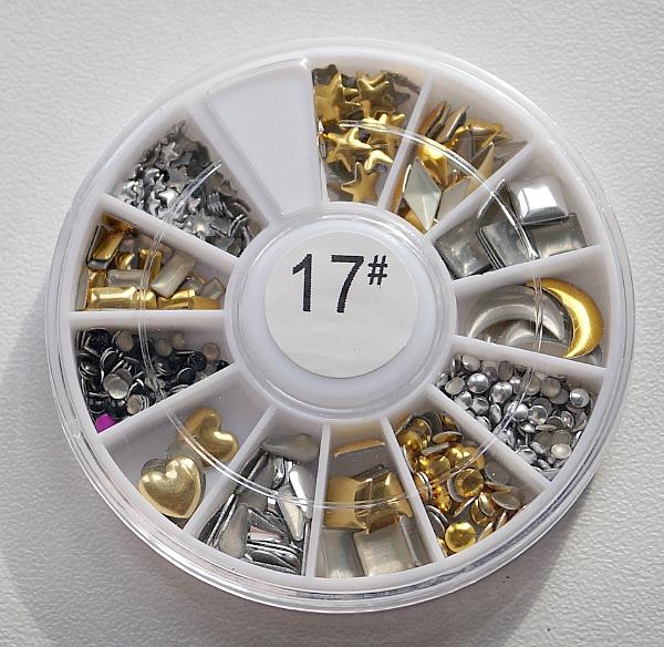 КАРУСЕЛЬ - фигурные украшения (золото+серебро), #17