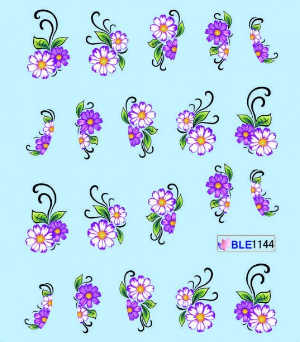Наклейки цветные, № BLE1144